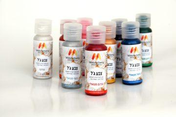 Metallic Super gel food color
